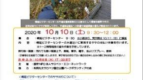 【参加者募集】10/10(土)幌延ビジターセンターのササ刈りイベントを開催いたします。