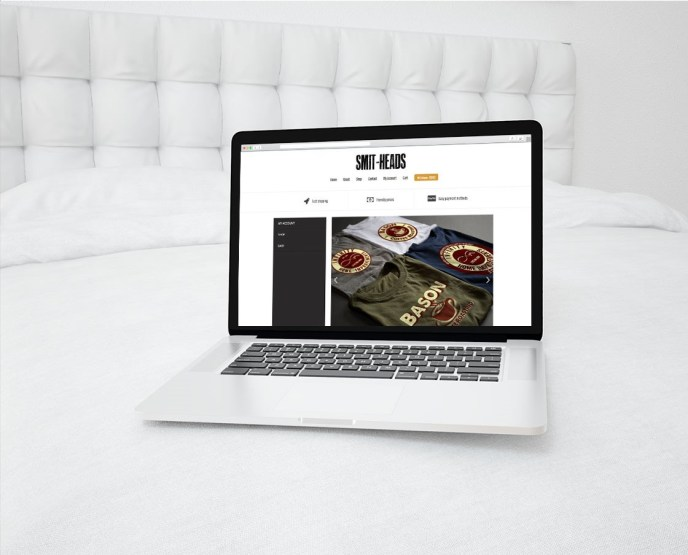 Smit-Head WordPress Ecommerce Website Design