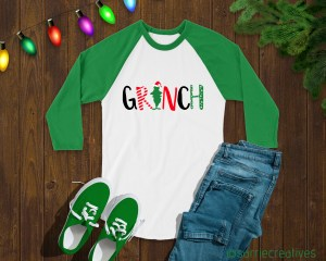 GRINCH shirt by Sarrie Creatives