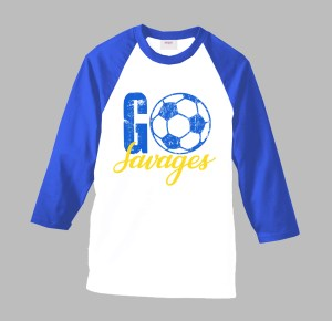 GO Soccer Team Shirt by Sarrie Creatives