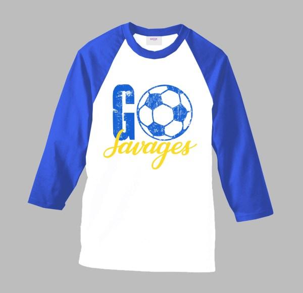 GO Soccer Team Shirt by Sarrie Creatives