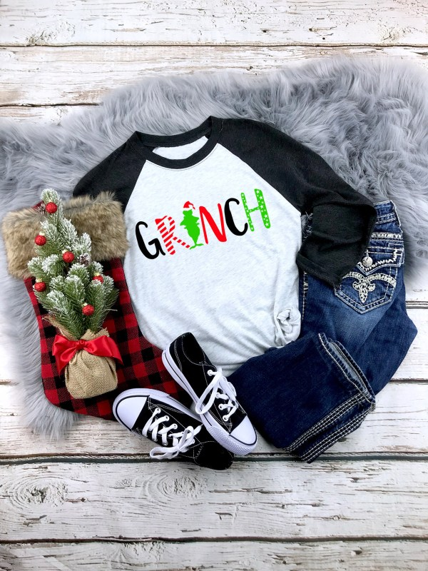Grinch Adult Shirt by Sarrie Creatives