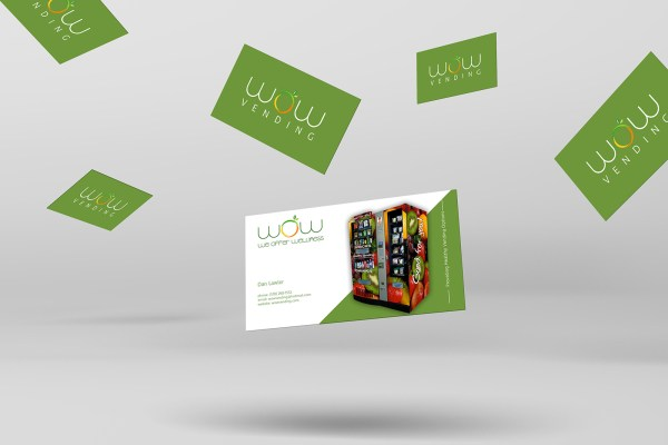 Custom Business Card Design by Sarrie Creatives for We Offer Wellness