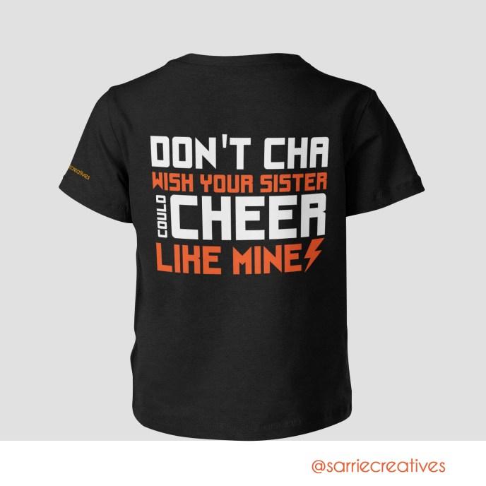 Sister Cheer Shirt
