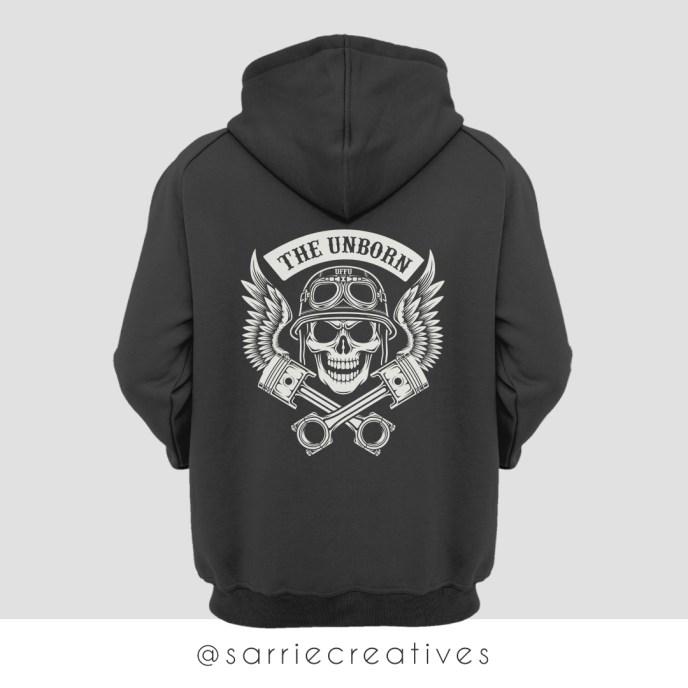 The Unborn MC Hoodie - TUMC Sweatshirt by Sarrie Creatives