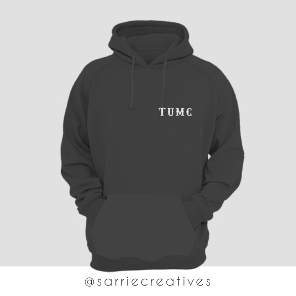 the unborn mc hoodie - tumc sweatshirt by sarrie creatives