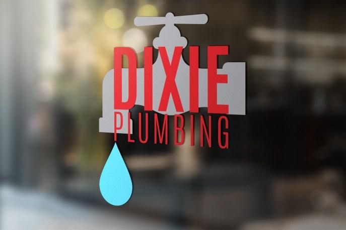Dixie Plumbing Logo Redesign