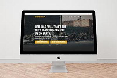 The Unborn MC Website Redesign
