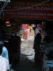 Stationary galli at Atta Market (which is in Noida but I've used the NCR licence to include it in Delhi)