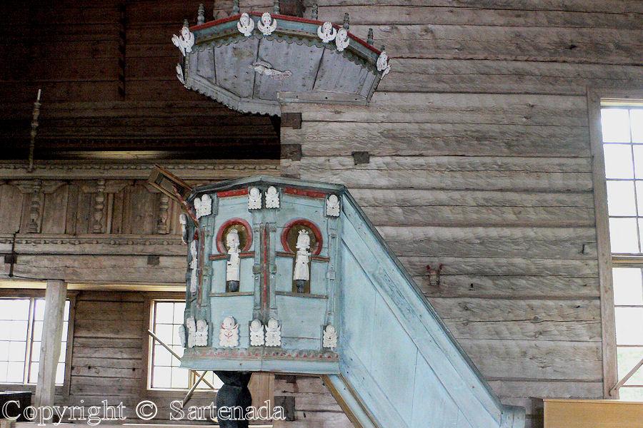 Old wooden church of Petajavesi