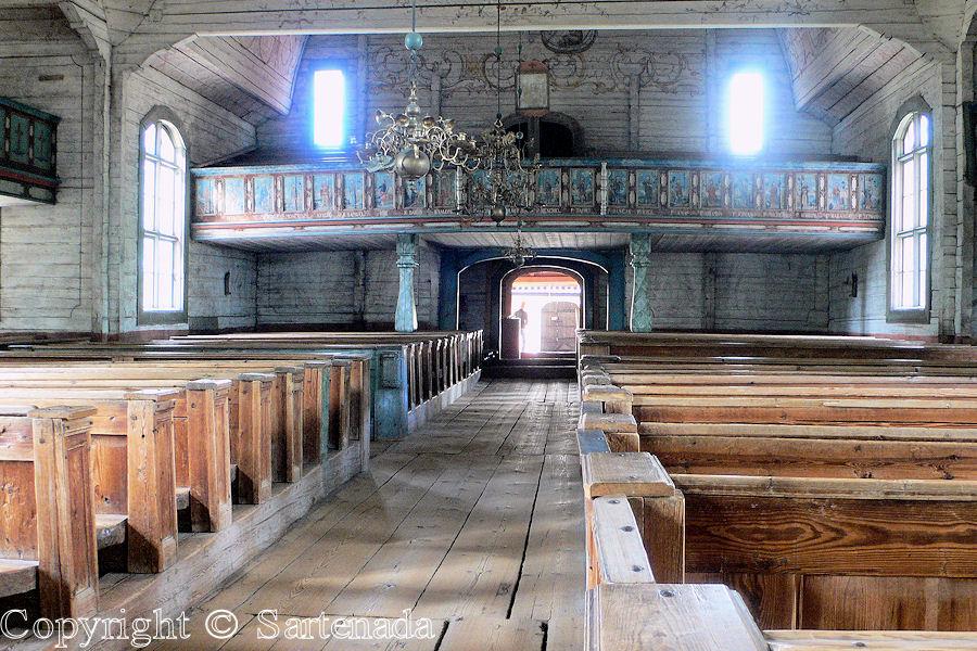 Old wooden church of Keuruu