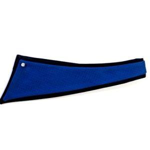 Μπλε μεταξωτό μυτάκι