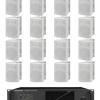Impianti audio da esterno di medie e grandi dimensioni
