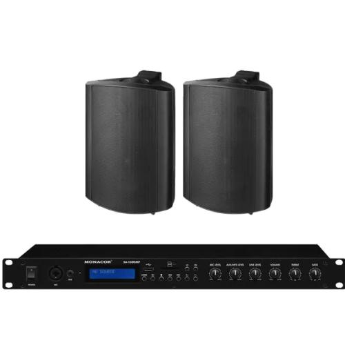 Impianto Audio Stereo per locali e attività commerciali