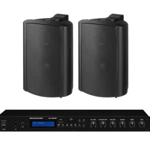 Impianto audio per locale commerciale
