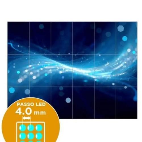 Impianto ledwall passo 4.0 mm 288x216