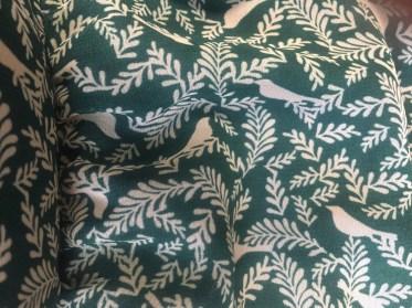 Flora & Fauna! (Green printed dress detail: Target)