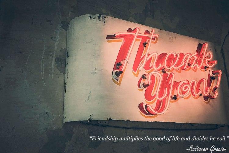 Thank you! vía Pexels