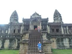 Angkor Wat from behind