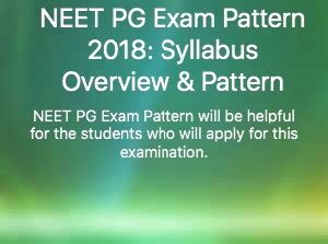 neet-pg-exam-pattern-2018-syllabus-overview-pattern/