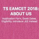 TS EAMCET 2018