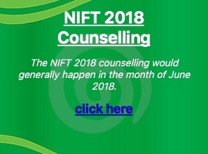 nift 2018 counselling