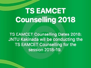 TS EAMCET COUNSELLING 2018