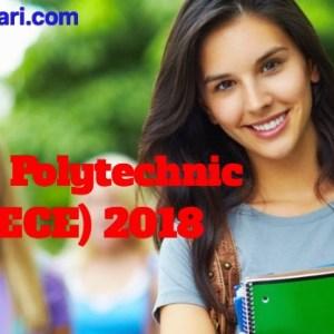 Bihar Polytechnic (DCECE) 2018 Application Form