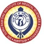 guru ram das medical college logo