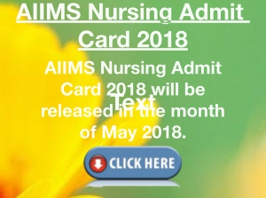 AIIMS Nursing