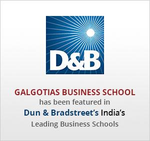 galgotias business school ranking
