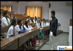 Santosh medical college students activities
