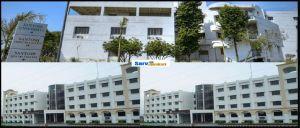 santosh university infrastructure