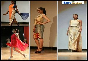 ramp walk at NIFT Kangra