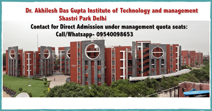Direct admission in ADGITM New Delhi
