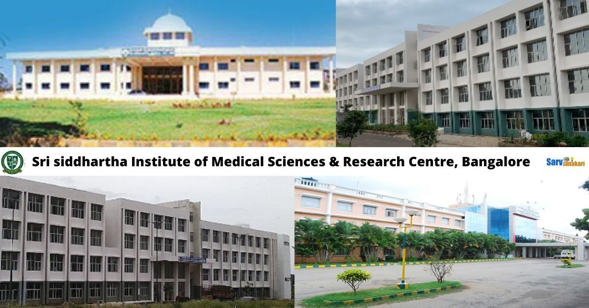 Sri siddhartha Institute of Medical Sciences & Research Centre, Bangalore
