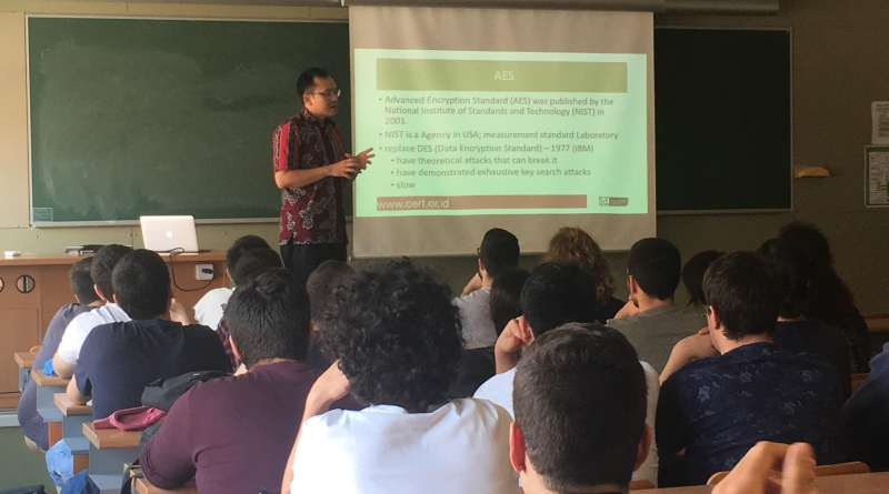 Tel-U lecturer gave a Guest Lecture in Barcelona Spain