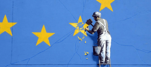 Banksy does Brexit (detail)