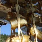 干し芋と秋収穫の大根~笹川流れ