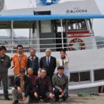 氷見港から桑川港へ回航