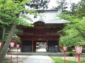 乙宝寺山門