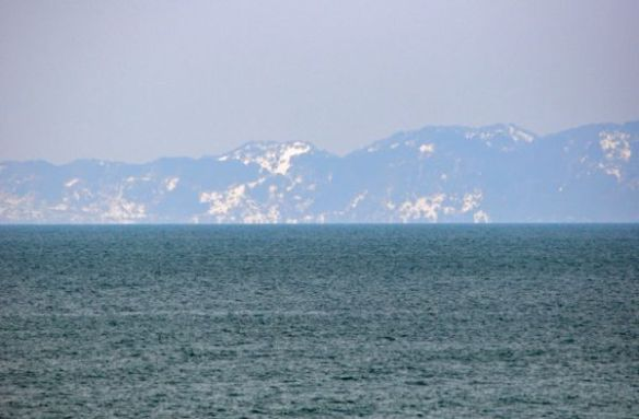 粟島の積雪