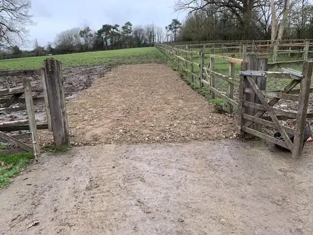Paddock gateway repair
