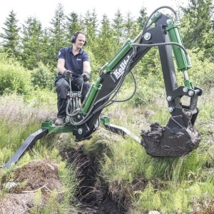 ATV excavator