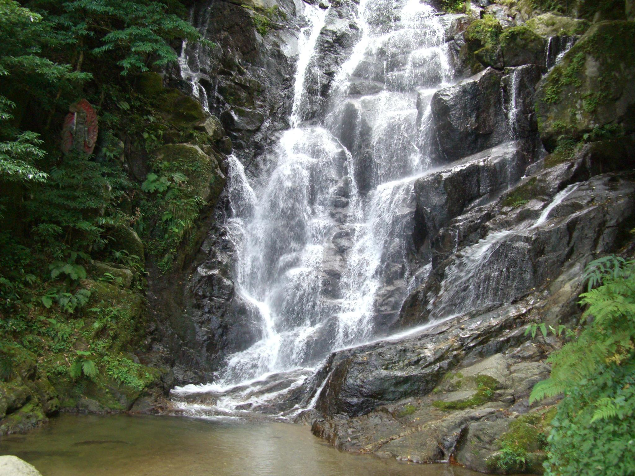 9月19日の白糸の滝