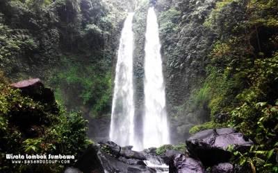 Air Terjun Tiu Teja, si kembar dari Lombok Utara