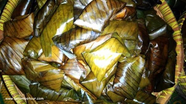 jajanan khas lombok nagasari