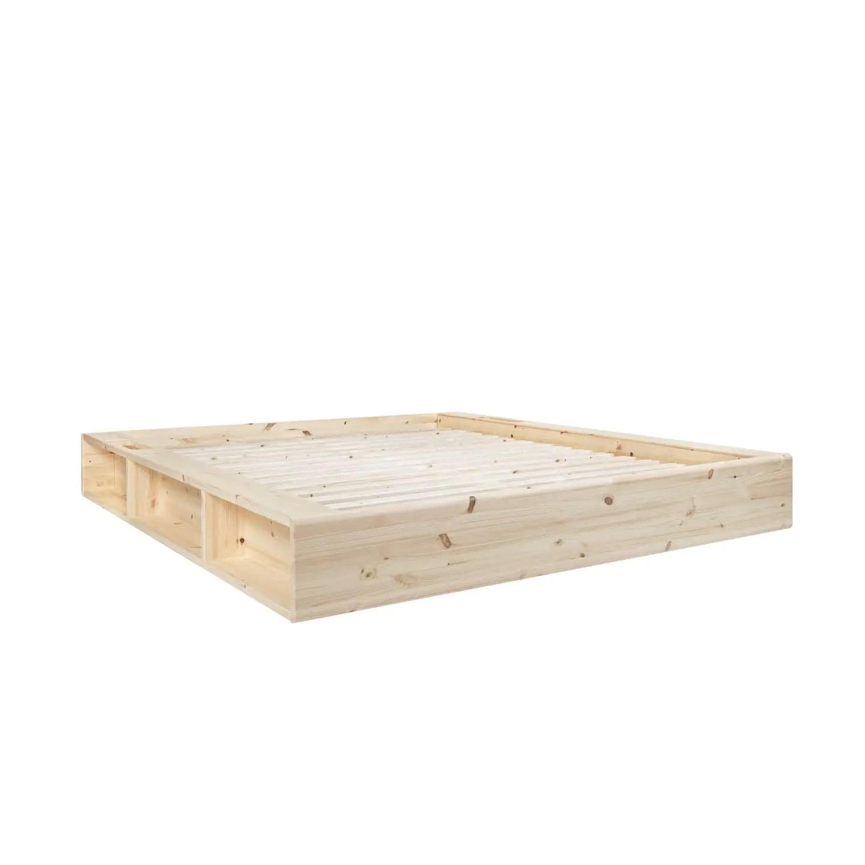 lit futon karup ziggy naturel elegant et peu encombrant