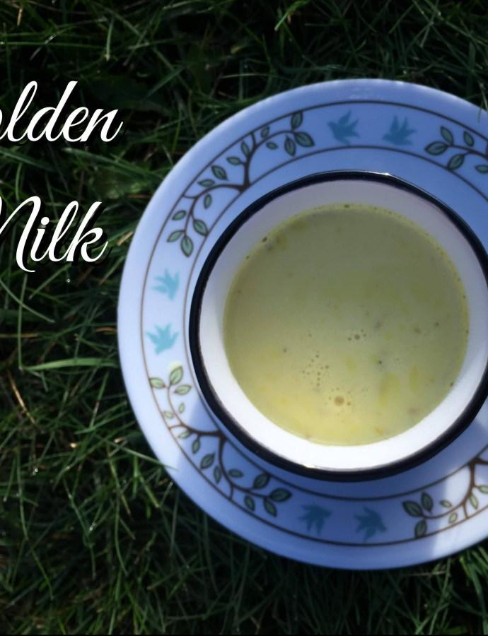 Golden milk Turmeric milk