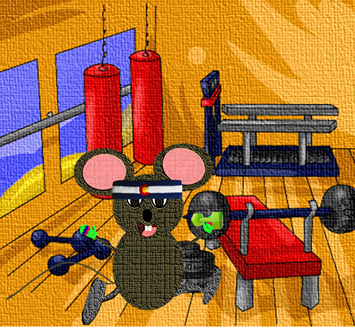 mouse-at-the-gym